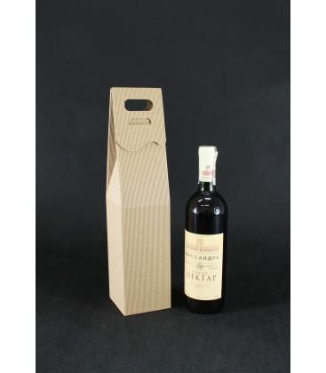 Pudełko na wino stożek