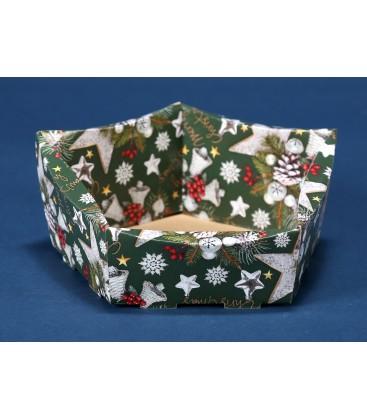 Kosz prezentowy świąteczny kmw 21