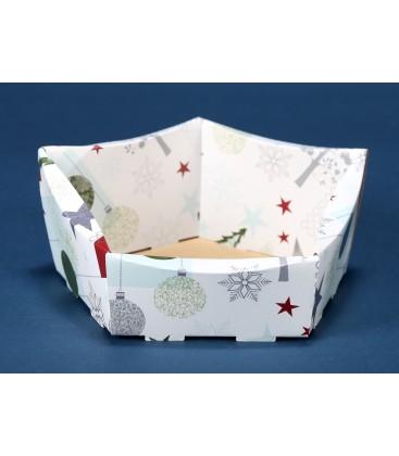 Kosz prezentowy świąteczny kmw 22