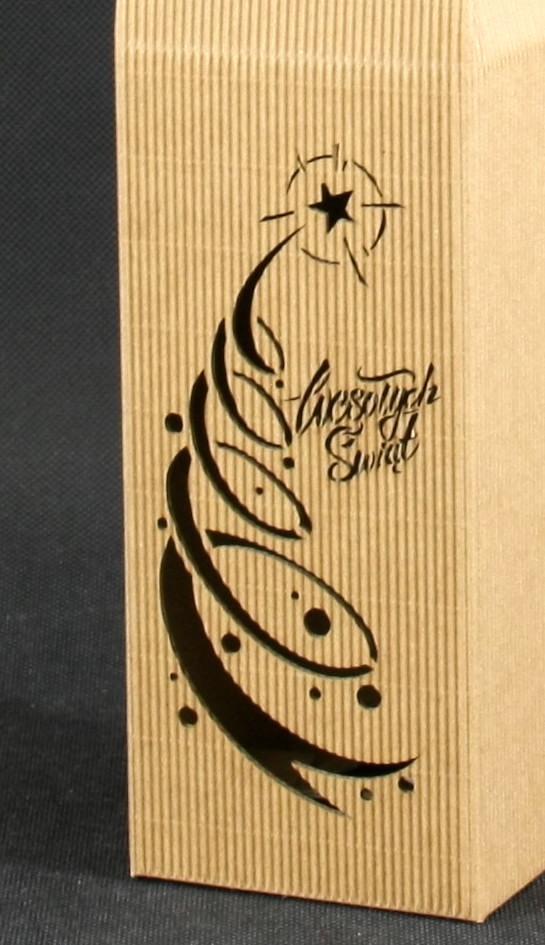pudełko do wina boże narodzenie