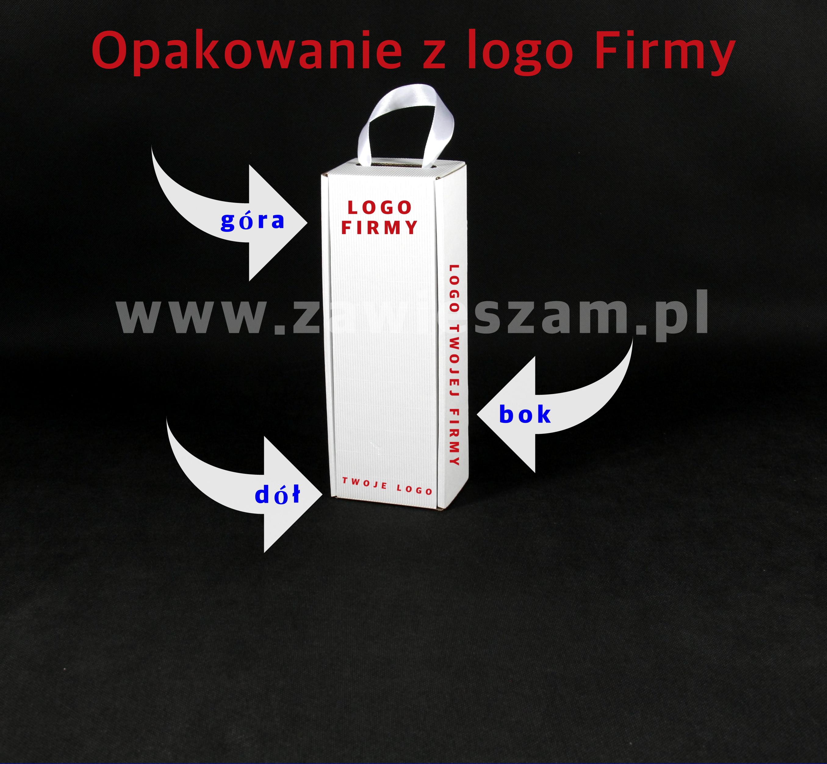 kartonik z logo firmy