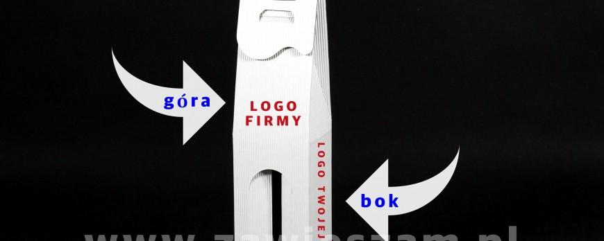 Opakowanie kartonowe z logo